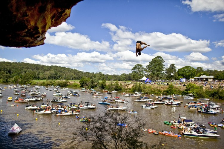 red bull cliff diving sydney