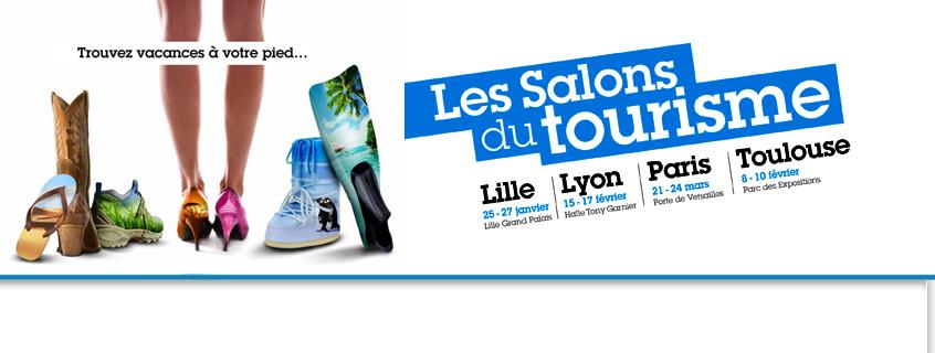 Invitations gratuites pour le salon mondial du tourisme for Salon du tourisme en france