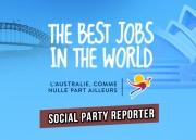 social party reporter