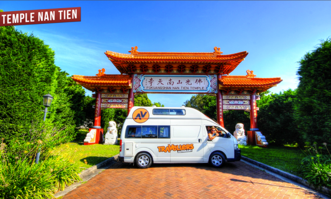 temple nan tien road trip
