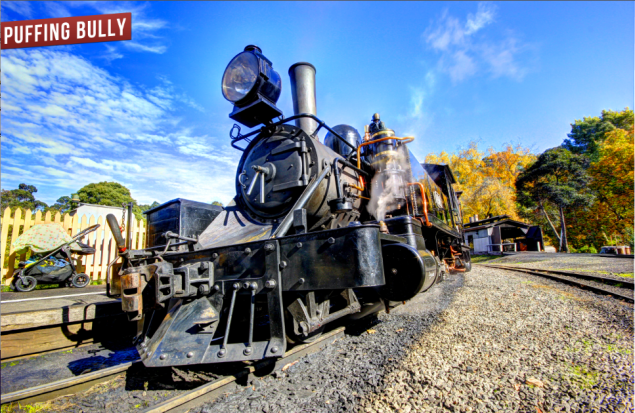 puffing billy road trip