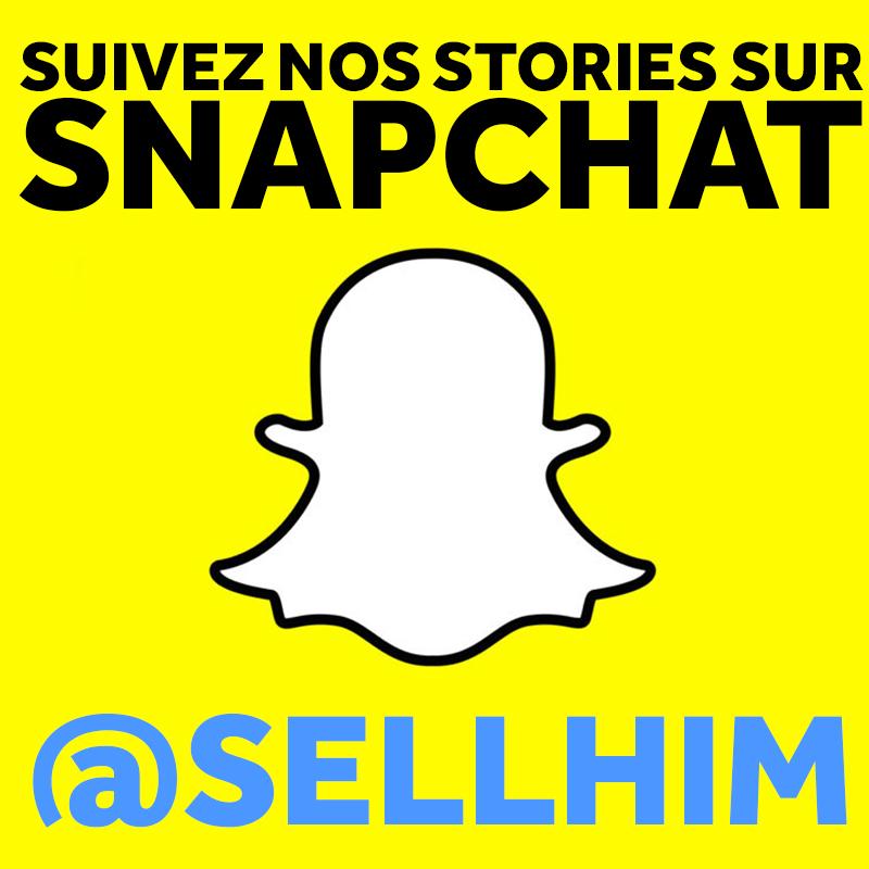 Axelle et Selim sur Snapchat